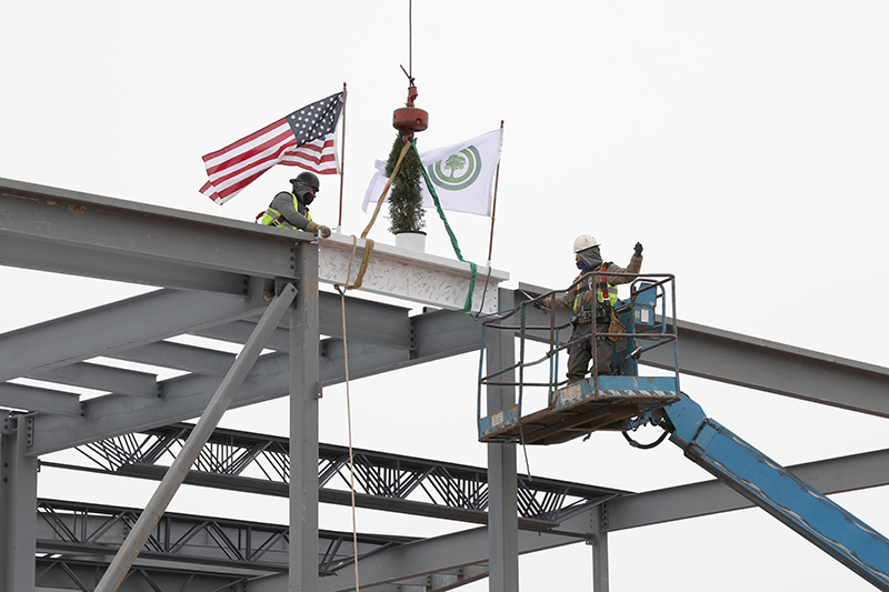 topping out ceremony nwacc
