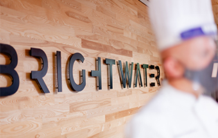 Sign saying Brightwater
