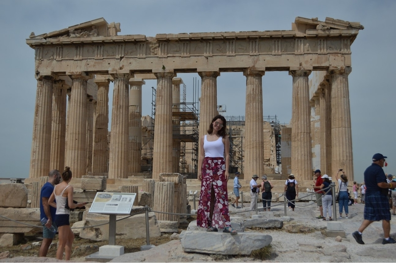 NWACC Student in Athens, Greece